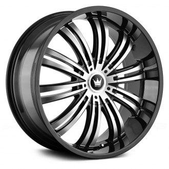 MAZZI® - SWANK Black with Machined Face