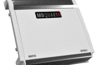 MB Quart® - Nautic Series Class SQ 2-Channel 180W Amplifier
