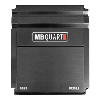 MB Quart® - Onyx Series Class AB 2-Channel 240W Amplifier