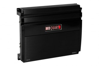 MB Quart® - Onyx Series Class SQ 4-Channel 600W Bridgeable Amplifier