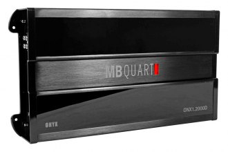 MB Quart® - Onyx Series Class D Mono 2000W Non-Bridgeable Amplifier