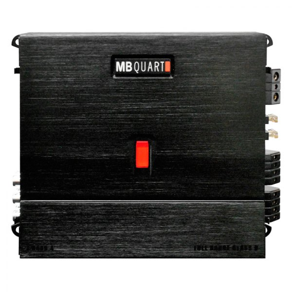 MB Quart® - MYKRO Series Class D 4-Channel 440W RMS Amplifier