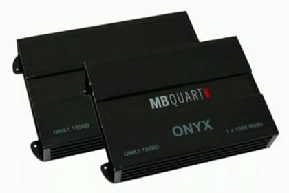 MB Quart® Onyx Series Amplifiers Features