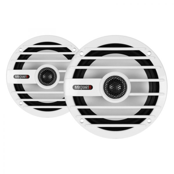 "MB Quart® - 6-1/2"" 2-Way Nautic Series Coaxial Marine Speakers"