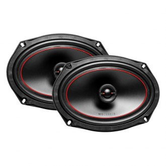 "MB Quart® - 6"" x 8"" 2-Way Onyx Series 80W Coaxial Speakers"
