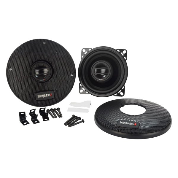 "MB Quart® - 4"" 2-Way Onyx Series 70W Coaxial Speakers"