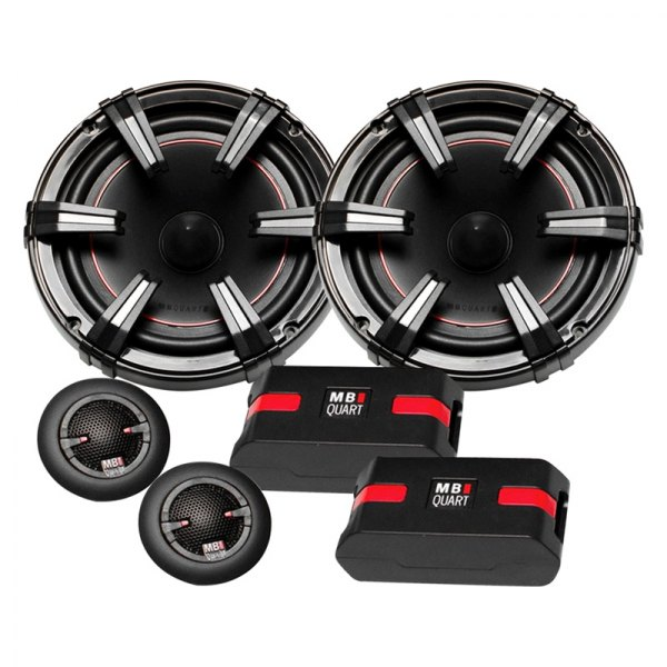 "MB Quart® - 6-1/2"" 2-Way Onyx Series 90W Component Speaker System"