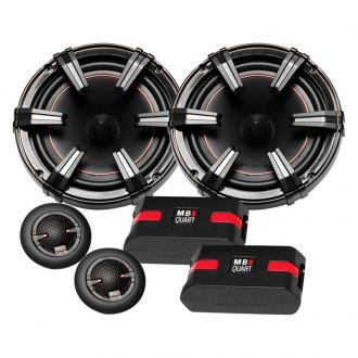 "MB Quart® - 6-1/2"" 2-Way Onyx Series 90W Component Speakers"