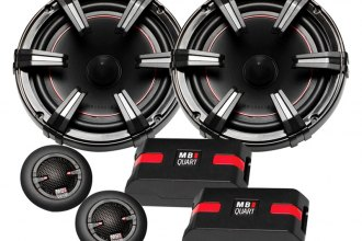 "MB Quart® - 6-1/5"" 2-Way Onyx Series 90W Component Speaker System"