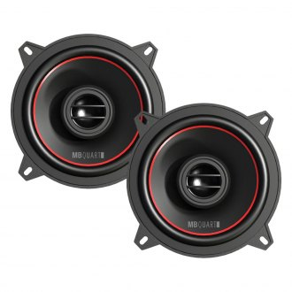"MB Quart® - 5-1/4"" 2-Way Reference Series 80W Coaxial Speakers"