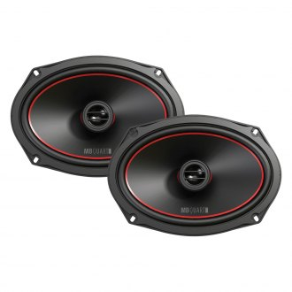 "MB Quart® - 6"" x 9"" 2-Way Reference Series 65W Coaxial Speakers"