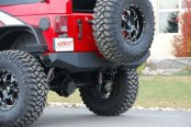 MBRP® - Rear Full Width Bumper Installed