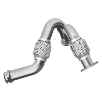 MBRP® - Aluminized Steel Dual Turbo Up Pipe