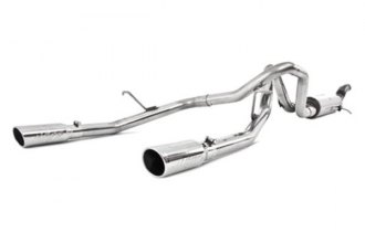 MBRP® S5074409 - XP Series™ Cat-Back Exhaust System - Split Rear Exit (Moderate Sound)