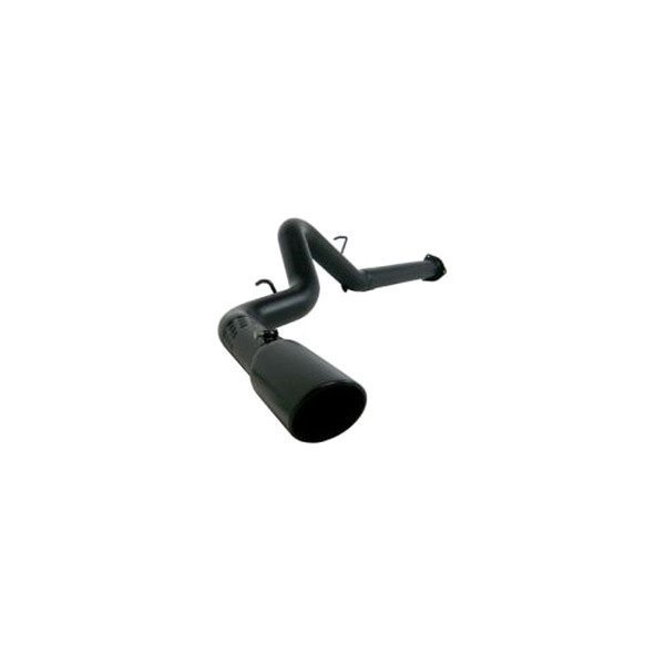 MBRP® - Black Series™ Down Pipe-Back Diesel Off-Road Exhaust System - Single Side Exit