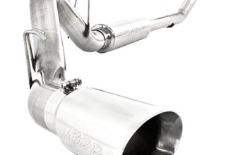MBRP® - Pro Series™ Turbo-Back Diesel Exhaust System - Single Side Exit (Moderate Sound)