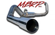 MBRP® - XP Series™ Turbo-Back Diesel Exhaust System - Single Side Exit (Moderate Sound)