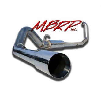 MBRP® - XP Series™ 409 SS Single Diesel Turbo-Back Exhaust System with Single Side Exit