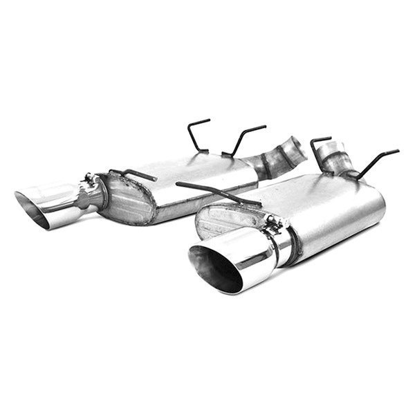 MBRP® - Installer Series™ Aluminized Steel Axle-Back Exhaust System