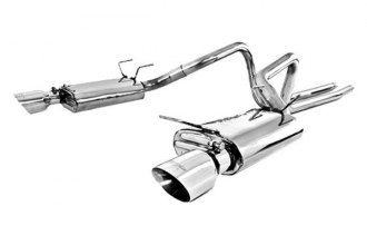 MBRP® - Installer Series™ Cat-Back Street Dual Exhaust System - Split Rear Exit
