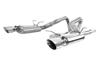 MBRP® - Pro Series™ Cat-Back Street Dual Exhaust System - Split Rear Exit