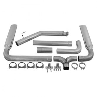 MBRP® - Installer Series™ Turbo-Back Exhaust System - Dual Smokers™ Stack Kit
