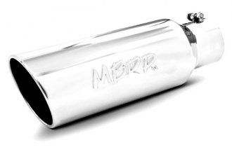 MBRP® - T304 Stainless Steel Rolled End Tip