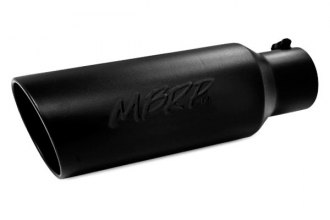 MBRP® - Black Rolled End Tip