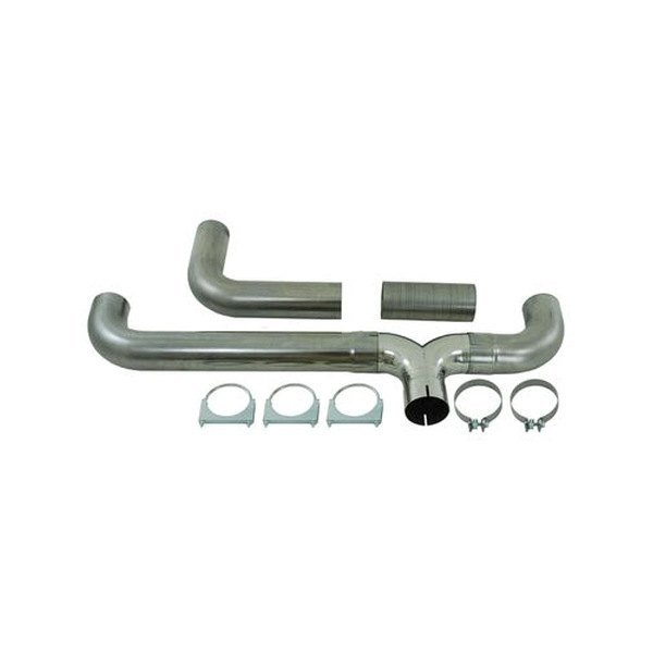 MBRP® - T409 Stainless Steel T-Pipe Kit