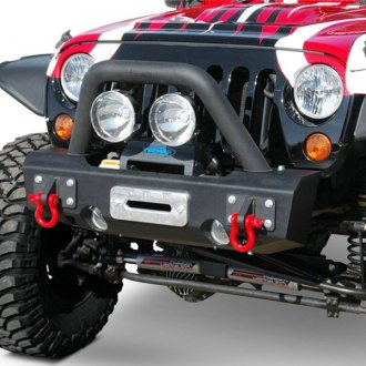MBRP® - Stubby Front Winch HD Bumper Kit