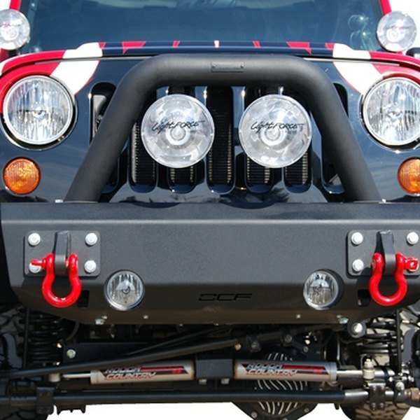 Mbrp 131176 stubby black front hd bumper with hoop mbrp stubby front hd black bumper mozeypictures Images