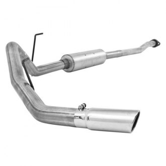 MBRP® - Installer Series™ Aluminized Steel Cat-Back Exhaust System with Single Exit