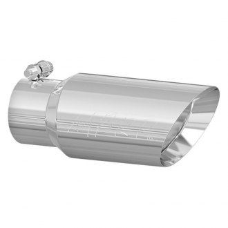 MBRP® - Round Angle Cut Clamp-On Double-Wall Exhaust Tip