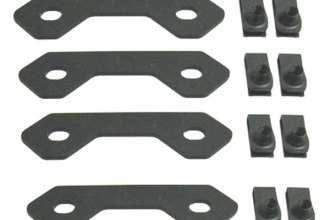 MBRP® - Black Coated Spare Tire Bracket Reinforcing Kit