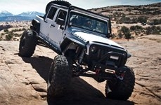 MBRP® - Off-Road Exhaust System on Jeep Wrangler