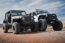 MBRP® - Exhaust System on Lifted Jeep Wrangler