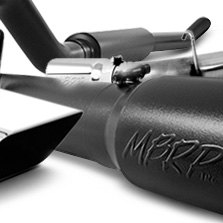 MBRP® - Black Painted Cat Back Exhaust System