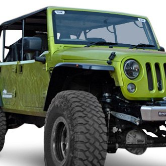 "MCE® - 3"" Generation III Carbon Front and Rear Fender Flares"