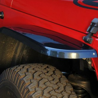 MCE® - Generation III Carbon Fiber Front and Rear Fender Flares