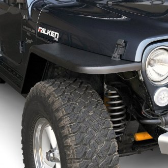 MCE® - Generation II Black Fender Flares