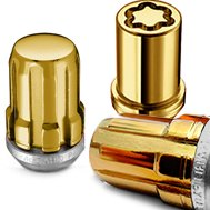McGard® Golden Wheels Lug Nuts