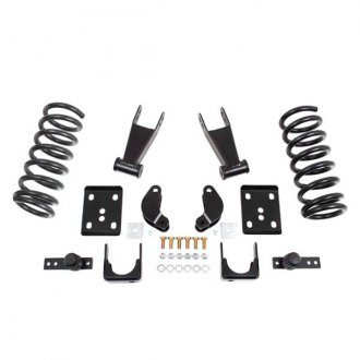 "McGaughy's® - 2"" x 4.5"" Front and Rear Economy Lowering Kit"