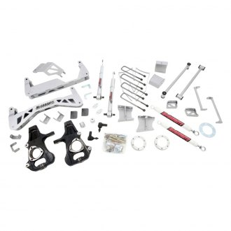 "McGaughy's® - 7"" Premium SS™ Front and Rear Suspension Lift Kit"