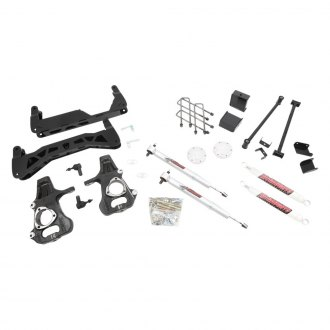 "McGaughy's® - 7""-9"" Economy™ Front and Rear Suspension Lift Kit"
