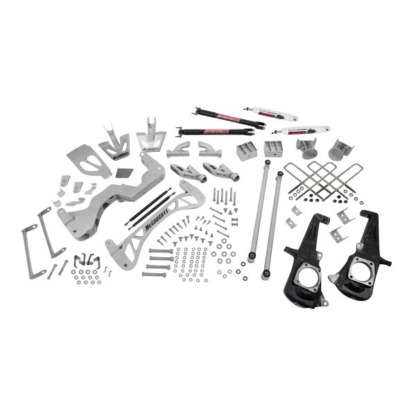 Mcgaughy's GMC Sierra 2500 2013 7 X Front And Rear Suspension. Mcgaughy's Premium Ntd Front And Rear Suspension Lift Kit. GM. GMC Sierra Rear Suspension Diagram At Scoala.co