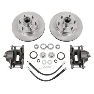 McGaughy's® - Plain Front Brake Kit
