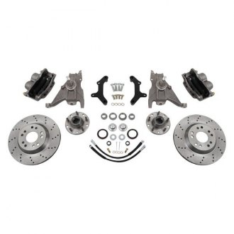 McGaughy's® - Drilled Front Brake Kit