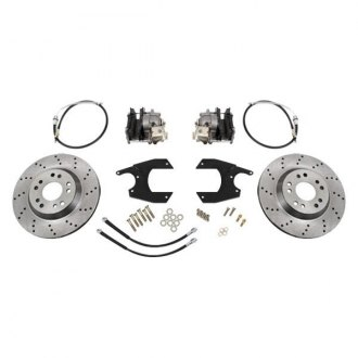 McGaughy's® - Drilled Rear Brake Kit