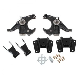 "McGaughy's® - 2.5"" x 4"" Front and Rear Deluxe Lowering Kit"