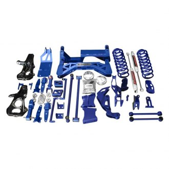 "McGaughy's® - 7"" Premium Front and Rear Lift Kit"